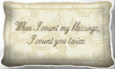 Count Blessings (Pillow)