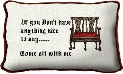 Come Sit With Me (Pillow)