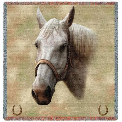 Quarter Horse (Tapestry Throw)