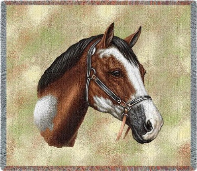 Paint Horse (Tapestry Throw)
