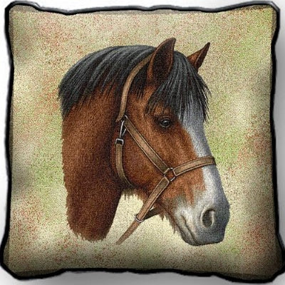 Clydesdale Horse Pill (Pillow)