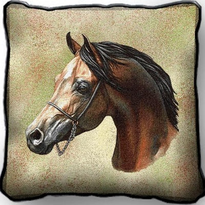 Arabian Horse Pillow (Pillow)