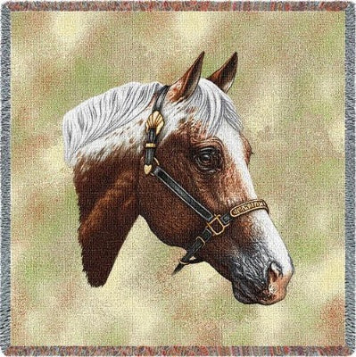 Appaloosa (Tapestry Throw)