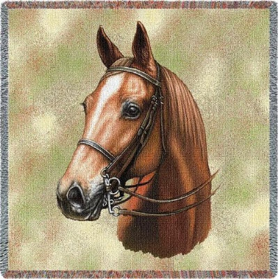 American Saddlebred (Tapestry Throw)