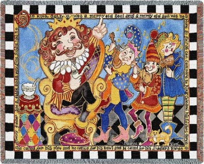 Old King Cole (Tapestry Throw)