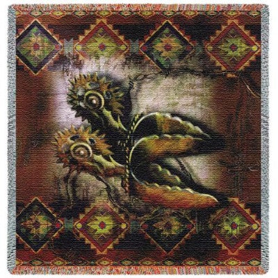 Western Spur (Tapestry Throw)