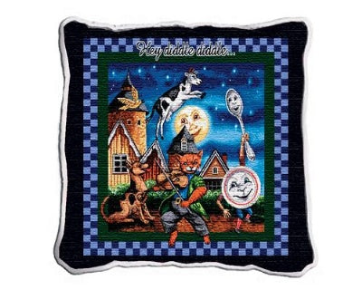 Cat And Fiddle Plw (Pillow)