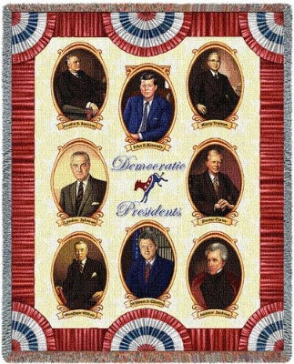 Great Democrats (Tapestry Throw)