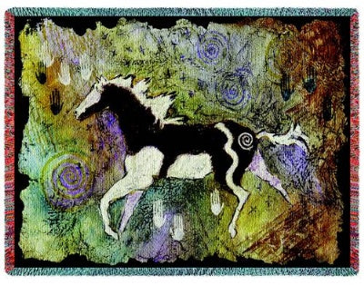 Magical Pinto (Tapestry Throw)