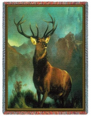 Monarch Of The Glen (Tapestry Throw)