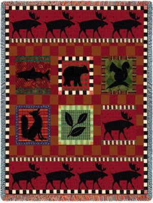 Adirondack Lodge (Tapestry Throw)