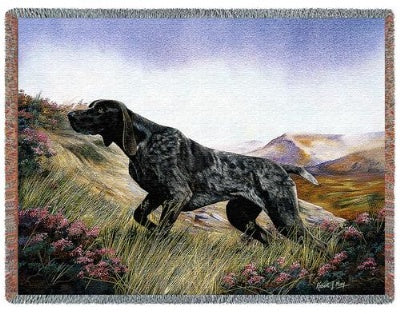 German Shorthaired (Tapestry Throw)