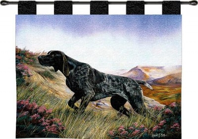 German Shorthaired Wh-Woodrod (Wall Hanging)