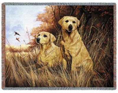Yellow Lab (Tapestry Throw)