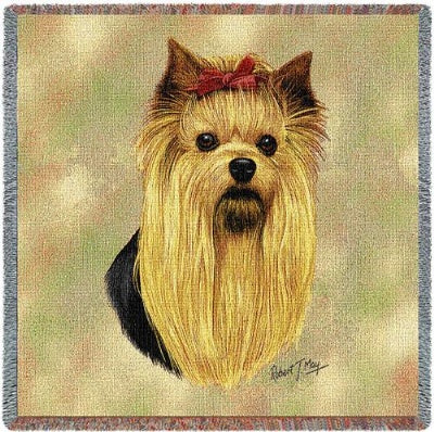 Yorkshire Terrier (Tapestry Throw)