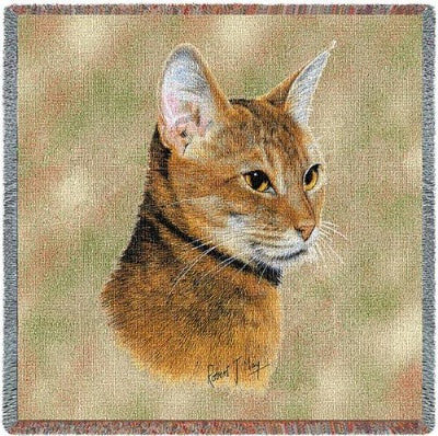 Abyssinian Lap Squar (Tapestry Throw)