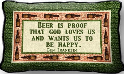 Beer Is Proof (Pillow)