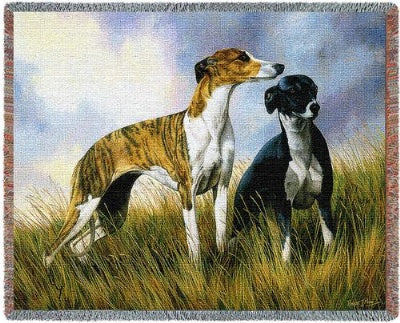 Greyhounds (Tapestry Throw)