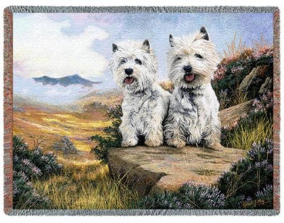 West Highland Ter (Tapestry Throw)