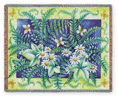 Ferns (Tapestry Throw)