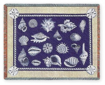 Shell Collection (Tapestry Throw)