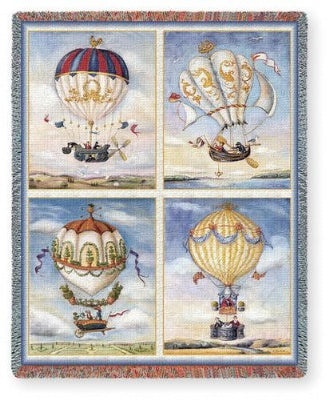 Balloon Collage (Tapestry Throw)