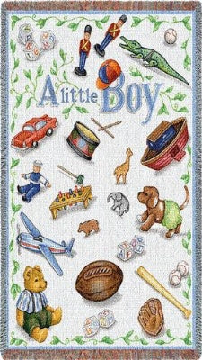 Little Boy Mini (Tapestry Throw)