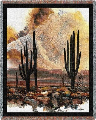 Sonoran Sentinels Tapestry (Tapestry Throw)