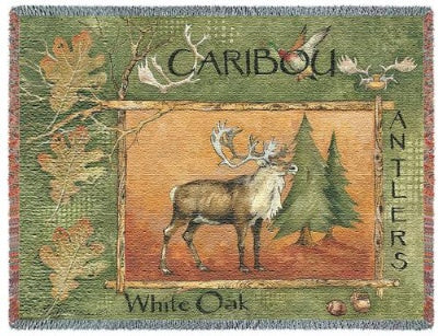 Caribou (Tapestry Throw)