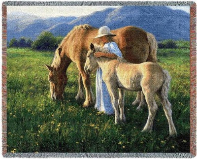 Beautiful Blondes Tapestry (Tapestry Throw)
