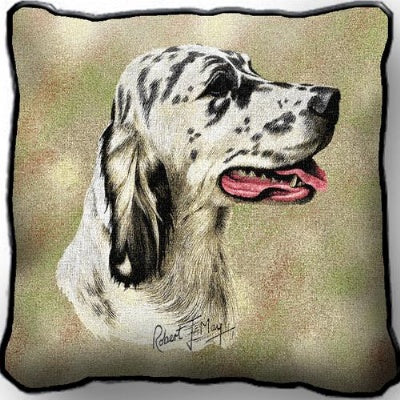 English Setter Pillow (Pillow)