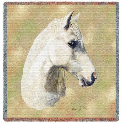 Welsh Pony (Tapestry Throw)