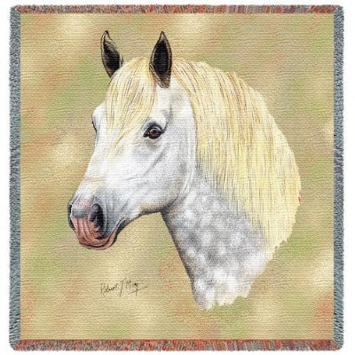 Percheron Lap Square (Tapestry Throw)