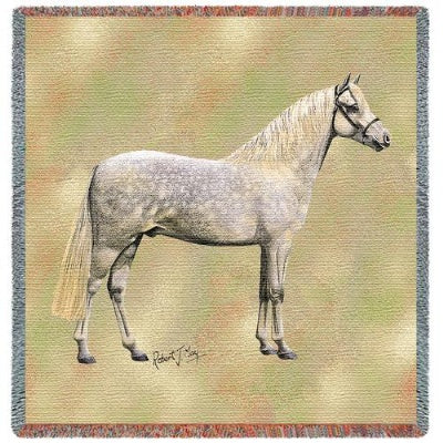 Welsh Pony Lap Sq (Tapestry Throw)