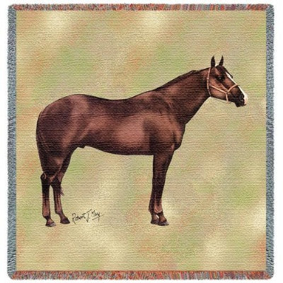 Quarter Horse II (Tapestry Throw)