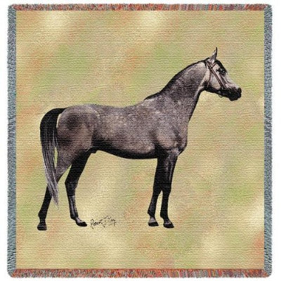 Endurance Arabian (Tapestry Throw)
