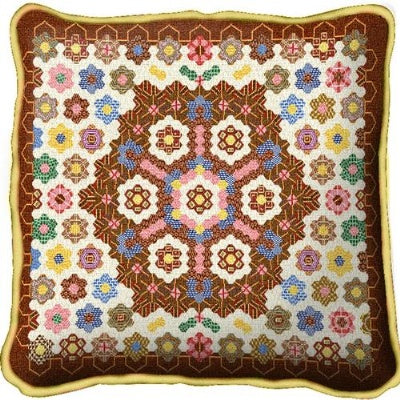 Honeycomb Quilt Pillow (Pillow)