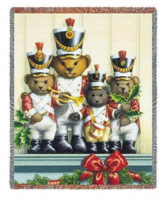 Soldier Bears (Tapestry Throw)