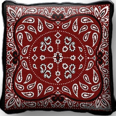 Bandana Pillow (Pillow)