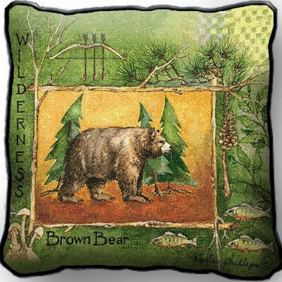 Brown Bear (Pillow)