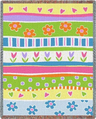 Garden Stripe (Tapestry Throw)
