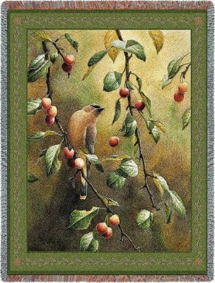 Cherry Chase Tapestry (Tapestry Throw)