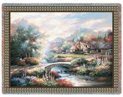 Country Bridge (Tapestry Throw)