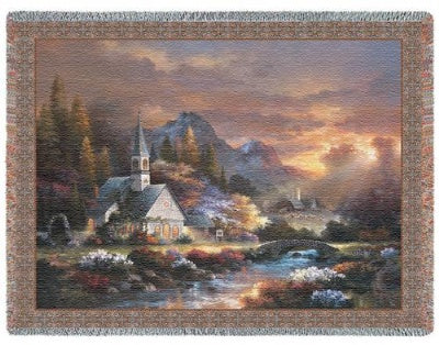 Morning Of Hope (Tapestry Throw)