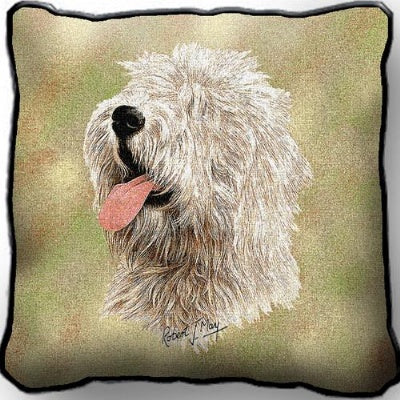 Old Eng Sheepdog II Pillow (Pillow)