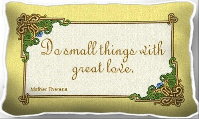 Do Small Things (Pillow)