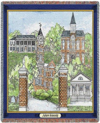 Auburn University Collage (Tapestry Throw)