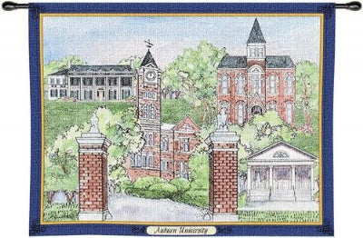 Auburn University Collage Wh Woodrd (Wall Hanging)