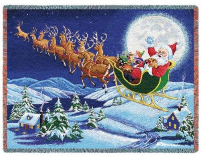 Christmas Magic (Tapestry Throw)