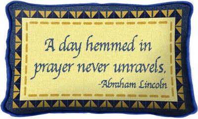 Day In Prayer (Pillow)